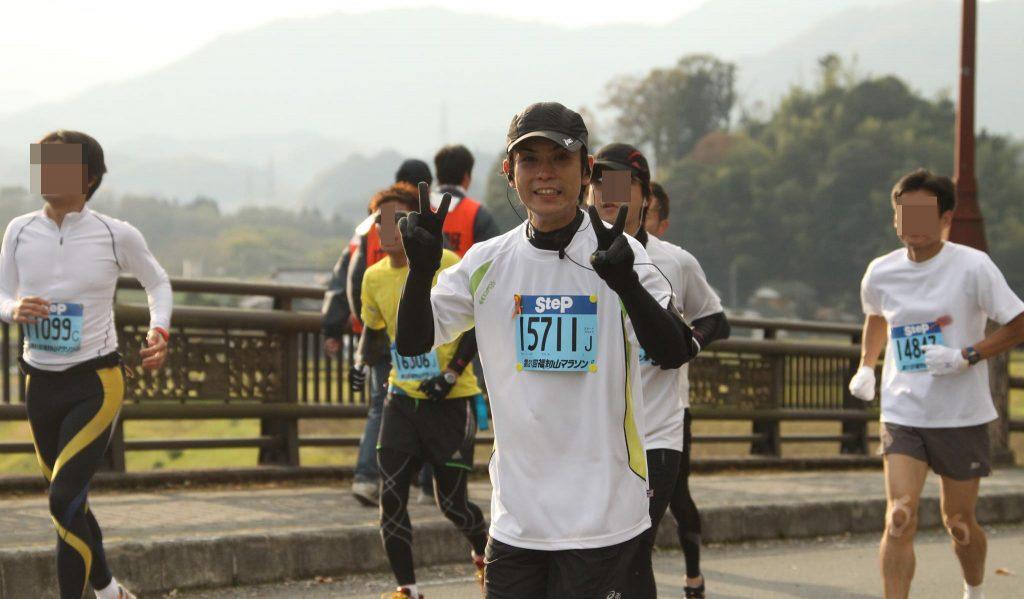 フルマラソン出場時の写真