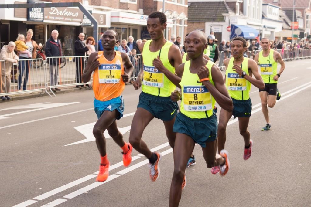マラソンしている人たち