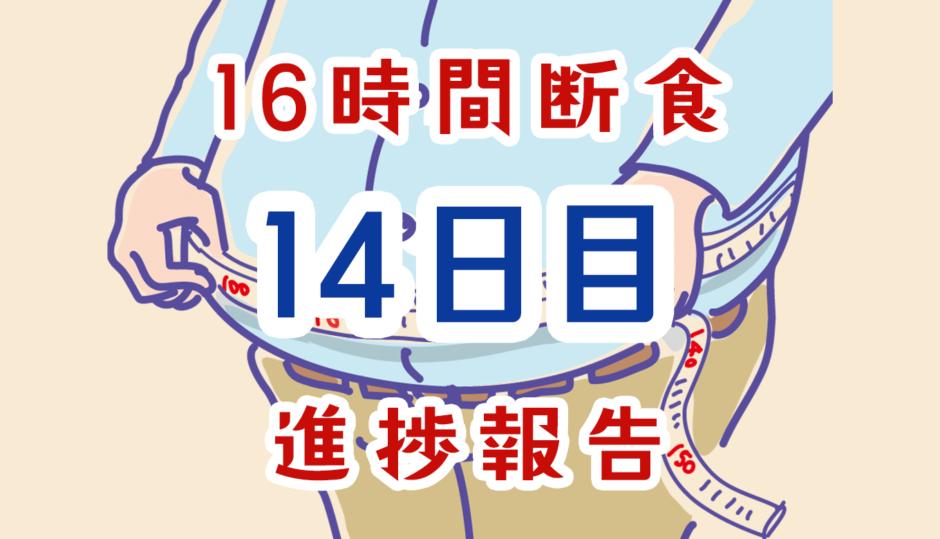 16時間断食14日経過報告
